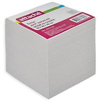 Блок для записей Attache на склейке белый 90х90х90 мм